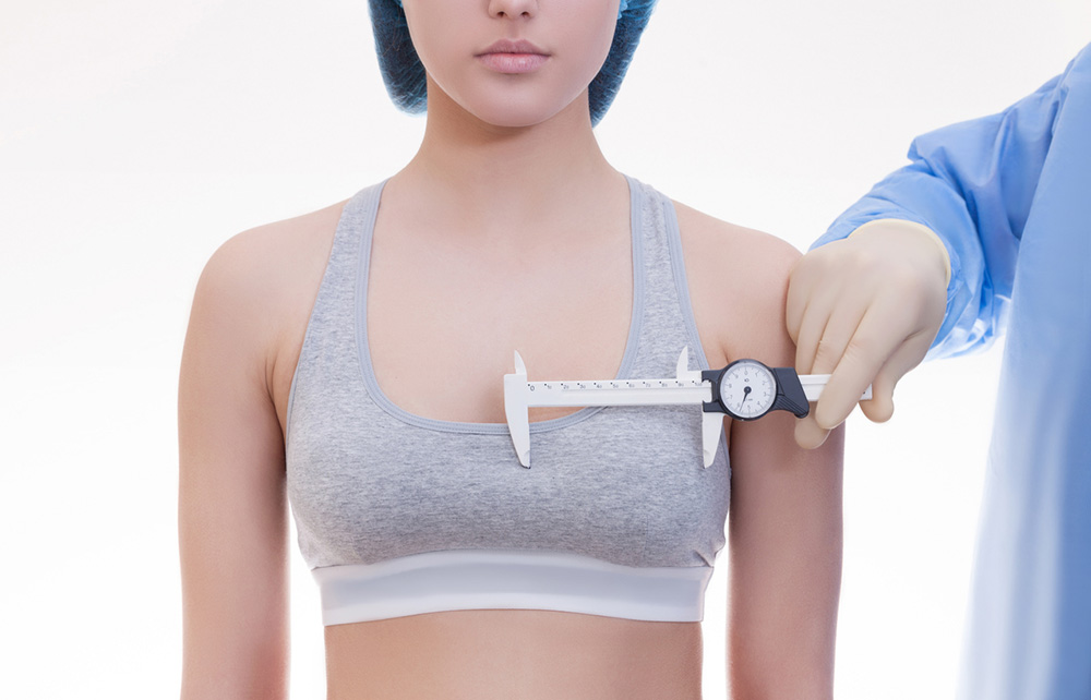 measurement of breast size